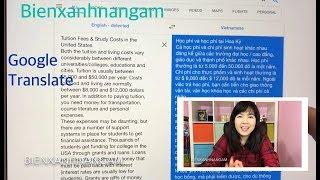Cuộc sống Mỹ #684 I Cách dùng Google translate để dịch tiếng Anh sang tiếng Việt 1cách dễ dàng