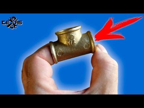 видео: Сантехники в ШОКЕ!!!Что можно сделать из тройника!