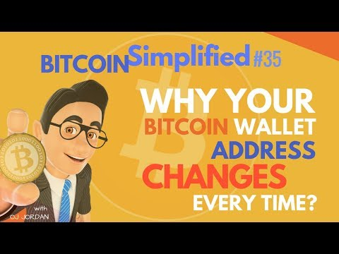 Why My Bitcoin Wallet Address Changes Every Time?