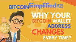 Why Your Bitcoin Wallet Address Changes Every Time?