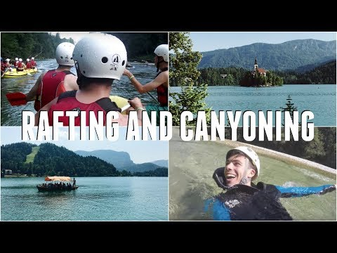 Lake It 'Til You Make It | Canyoning and Rafting, Lake Bled | Off the Rails #5 - Duur: 11:00.