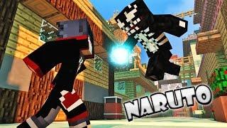 Ataque a Aldeia da Folha - Minecraft Mods NARUTO