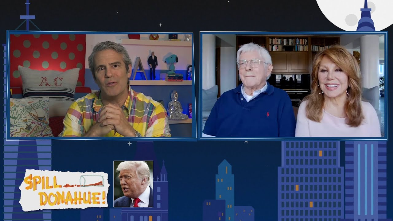 Phil Donahue on Interviewing Donald Trump: 'He Exaggerated Everything' | WWHL
