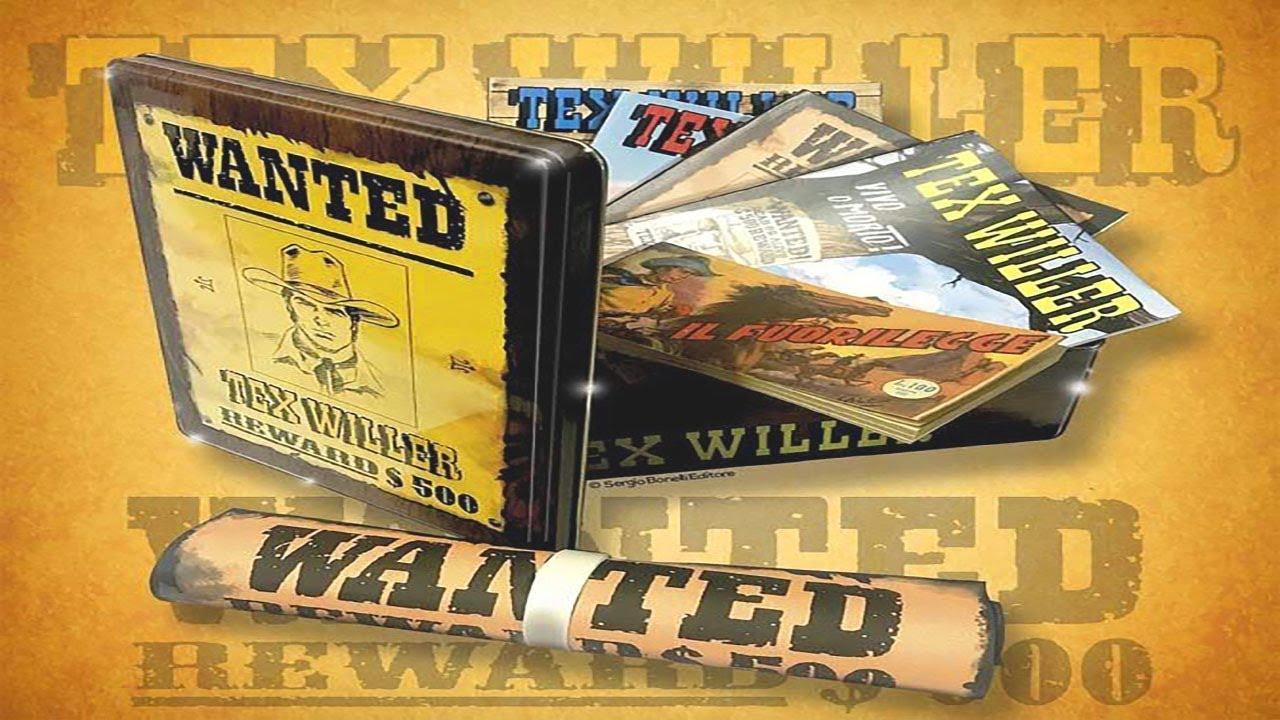 TEX WILLER WANTED BOX SERGIO BONELLI EDITORE