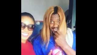John Dumelo and Yvonne Nelson impersonate each other