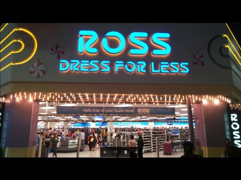 Busiest ROSS Store in the WORLD!  ** UNBELIEVABLE!!! **  in Guam