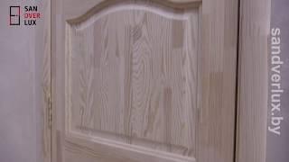 Обзор межкомнатной двери из массива сосны модель №7, Производственный мебельный центр- Sandverlux.by