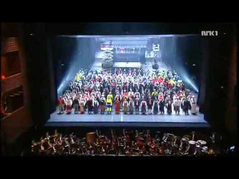Opening Gala in Oslo: Slave Chorus from Nabucco