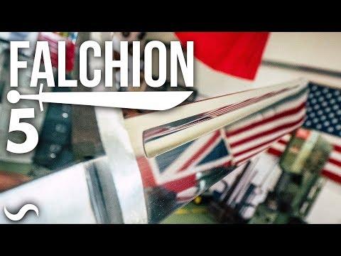 MAKING A FALCHION!!! Part 5