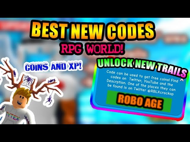6 9 MB) [BEST CODES]🔥Roblox RPG World All New Codes | Level Up And