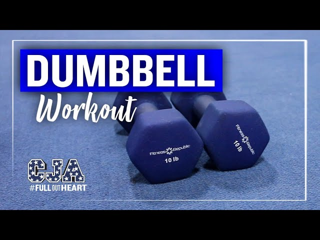 25 Minute Dumbbell Workout | Strength & Fitness | CJA - Central Jersey Allstars