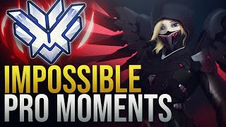 WHEN PROS DO THE IMPOSSIBLE - Overwatch Montage