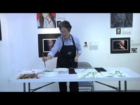 Columbia Art Center: Chinese Brush Painting (Sumi-e) Instructional Video