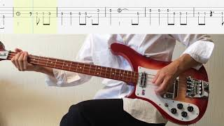 Bass TAB Think For Yourself Fuzz Bass The Beatles