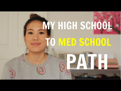 My Path from High School to Medical School | High School Transcript Reveal!