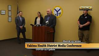 Yakima Health District Media Conference - COVID-19 Update