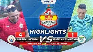 PERSIJA VS PERSELA (FT 4-1) - Highlights Bejo Jahe Merah Piala Gubernur Jatim 2020