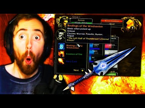 Asmongold Gets His First Legendary In Classic WoW [0.23% Drop Chance]