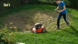 Rasen neu anlegen// Von Unkrautwüste zum Rasen   Teil 1