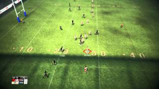Rugby League Live 2 Gameplay Championship Teams Centurions vs Halifax