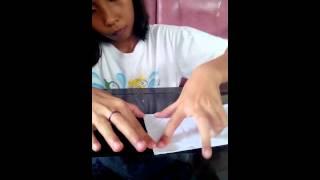 Cara membuat dompet dari kertas
