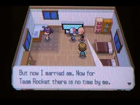 Pokemon black and white easter egg 01 that team rocket guy that talks
