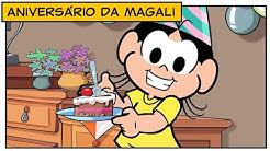 Maratona de aniversário: episódios da Magali 🎂🥳 | Turma da Mônica
