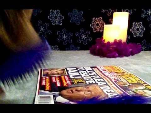 ASMR 45 Minutes, The Globe Tabloid, Soft Spoken Read, Headlines, Ads, Chewing Gum, Soft Feather