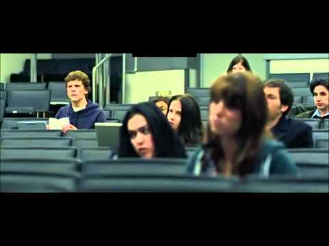 The Social Network - Classroom Scene