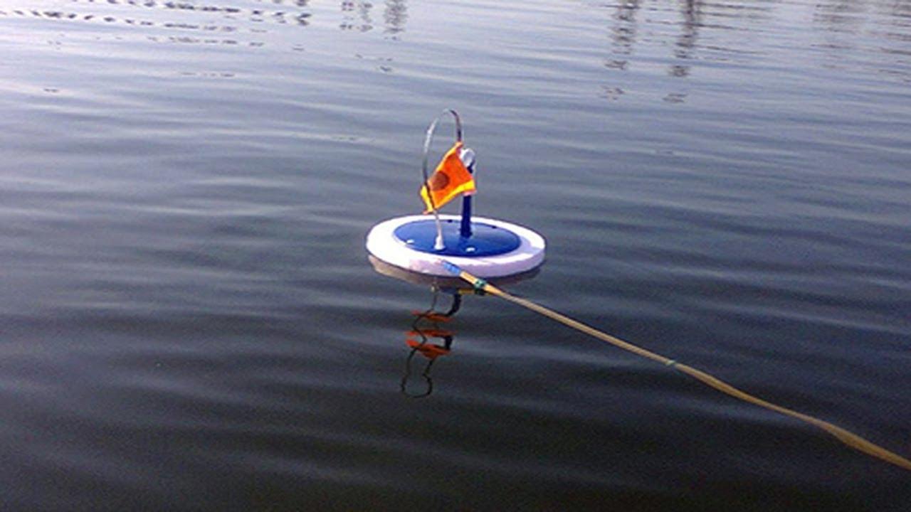 Плавающая жерлица на щуку летом
