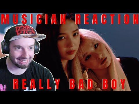 MUSICIAN REACTS | RED VELVET - REALLY BAD BOY REACTION & REVIEW