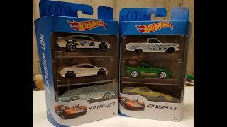 More Hot Wheels 3 Packs with some cool multipack exclusives!