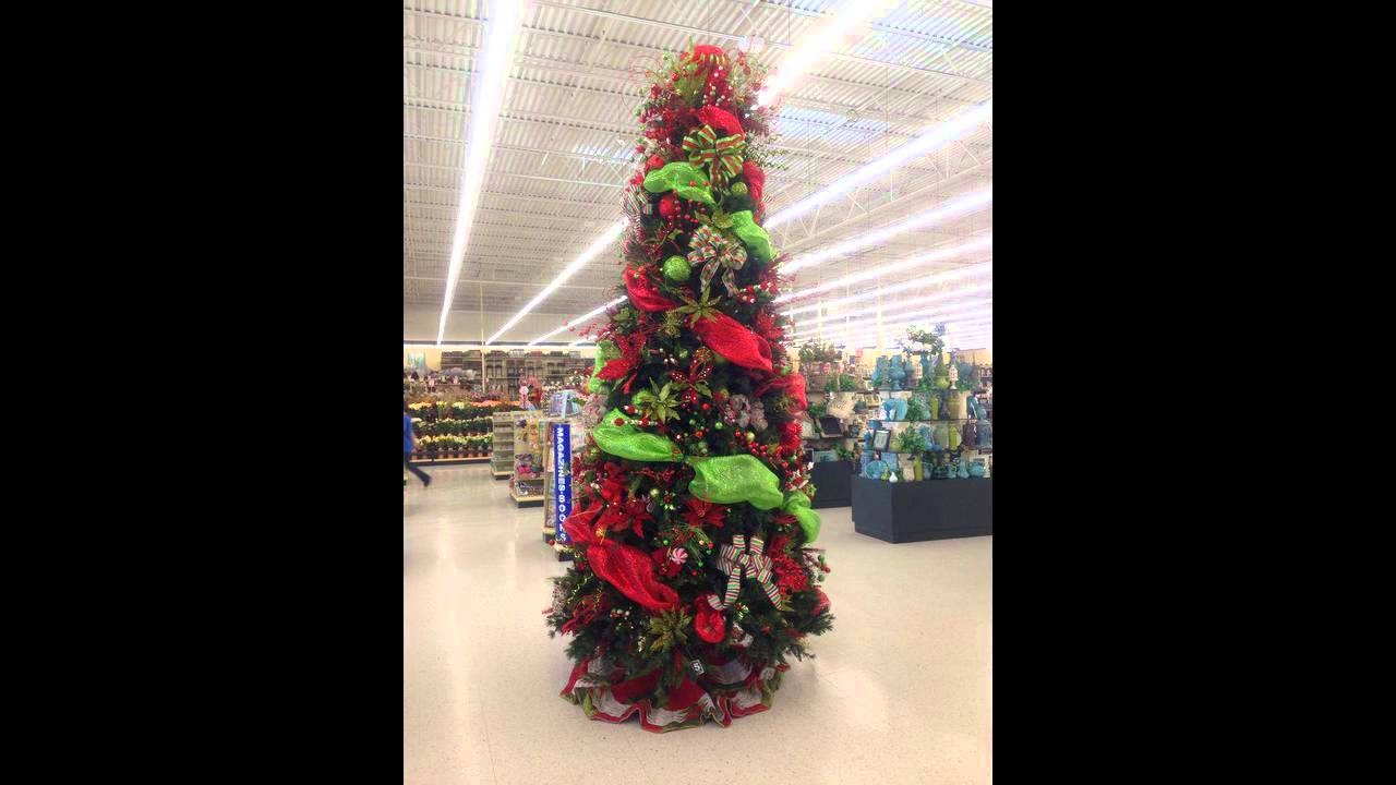 hobby lobby christmas trees - YouTube