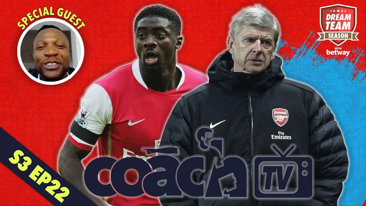 Arsenal Legend Lauren joins Dream Team Coach TV