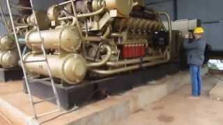 видео Газопоршневая электростанция: принцип работы. Эксплуатация и обслуживание газопоршневых электростанций