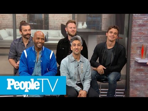 Who Is The Thirstiest Fab Five Member? 'Queer Eye' Tells All In Game Of 'Spin & Spill!' | PeopleTV