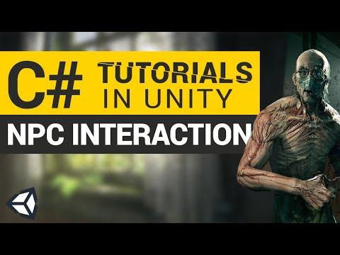 NPC Interaction | C# Tutorials in Unity