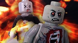 EPIC LEGO ZOMBIE SURVIVAL!!!! ( Lego Zombie Game / Brick Rigs Gameplay )