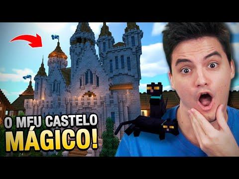 CONSTRUÍ UM CASTELO MÁGICO NO MINECRAFT #29
