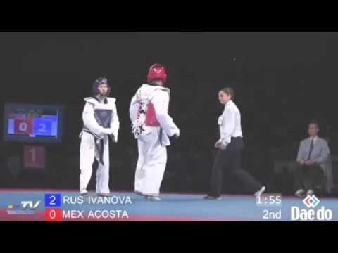 Woman Beater taught a lesson By Female World Taekwondo Champion