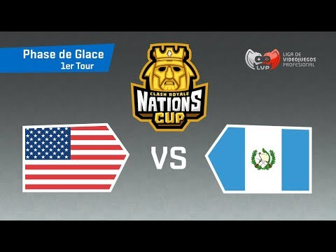 🔴 USA vs GUATEMALA feat. Azilys - Coupe du Monde | CR Nations Cup - Phase 1