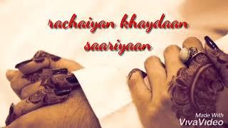 😍😍Mere sohneya teriyan ||WHATSAPP  STATUS|| Neha kakkar & Sonu kakkar||😍😍