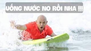 Challenge #17 : Lần đầu chơi thử lướt ván và ... no nước biển !!!