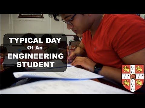 DAY IN THE LIFE of a UNI ENGINEERING Student