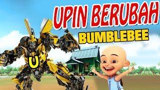 Upin ipin Berubah jadi Transformers bumblebee GTA Lucu