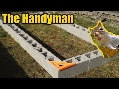 Earthquake Resistant Raised Garden Beds | THE HANDYMAN |
