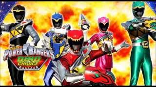 All Power Rangers Theme Song MMPR Dino Charge