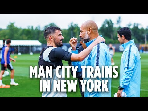 Man City Trains in New York | INSIDE TRAINING