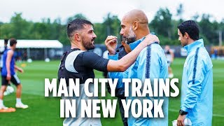 Man City Trains in New York | INSIDE TRAINING