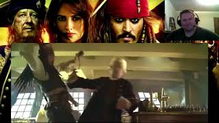 Pirates Of The Caribbean 1-5 Bloopers Reaction!!!